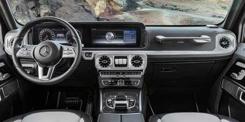 2018 Mercedes-Benz G-Class interior revealed