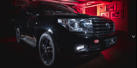 Toyota LandCruiser gets Vilner makeover