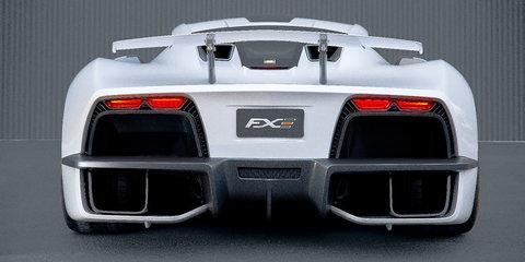 Aria FXE: 850kW hybrid hypercar revealed in LA