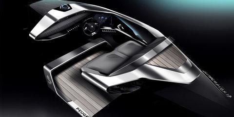 Peugeot Sea Drive unveiled in Paris