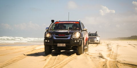 Off-roading Fraser Island on the Isuzu I-Venture
