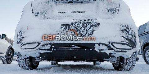 2019 Mercedes-Benz A-Class plug-in hybrid spied