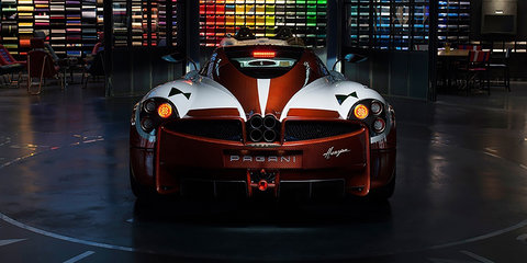 Pagani Huayra Lampo revealed