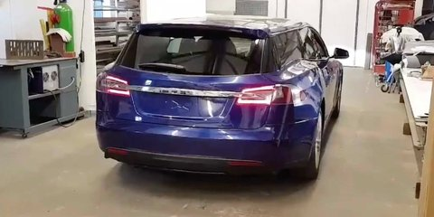 Tesla Model S-based Shooting Brake revealed