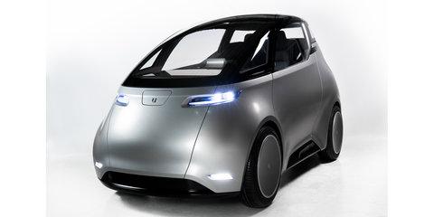 Uniti unveils crowdfunded city EV