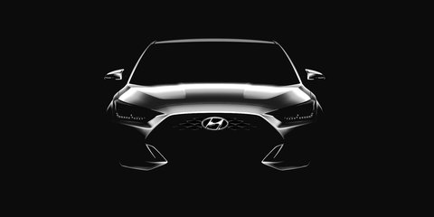 2018 Hyundai Veloster previewed ahead of Detroit