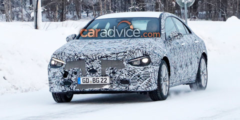 2019 Mercedes-Benz CLA spied in the snow