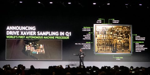 Autonomous vehicle tech is the biggest computing problem of its kind: Nvidia