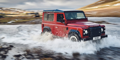 Land Rover Defender Works V8 revealed