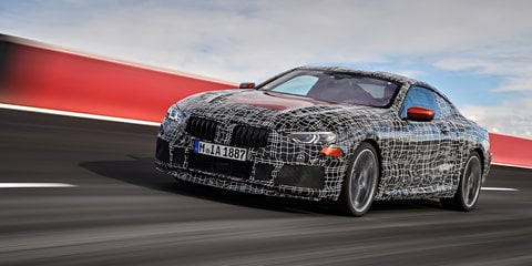 2018 BMW 8 Series previewed on the track