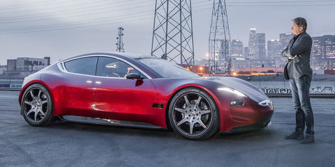 2019 Fisker EMotion debuts, solid-state battery coming later