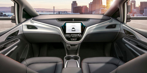 GM unveils autonomous car for 2019 with no steering wheel, pedals