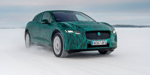 Jaguar I-Pace teased ahead of March 1 reveal, here in October