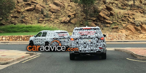 2018 Jeep Grand Commander spotted testing in Aussie outback