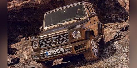 2018 Mercedes-Benz G-Class leaked, off-road 'Schöckl-ready' tech detailed