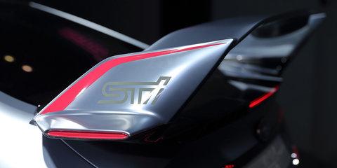Subaru Viziv Performance STI Concept unveiled