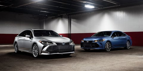 2019 Toyota Avalon revealed - UPDATE