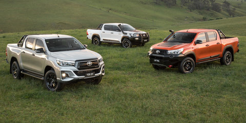 Toyota HiLux Rogue, Rugged, Rugged X announced for Australia