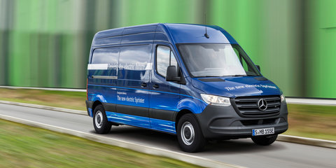 Mercedes-Benz eSprinter: More details revealed