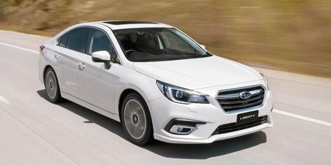2018 Subaru Liberty pricing and specs
