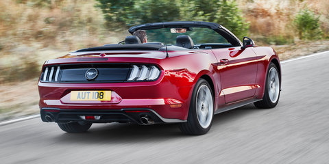 2018 Ford Mustang pricing and specs
