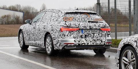 2019 Audi A6 Avant spied