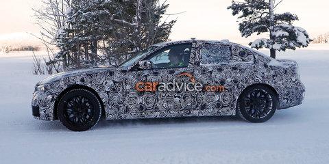 2019 BMW M3 spied