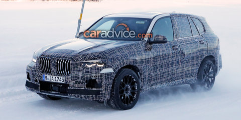 2019 BMW X5 M spied