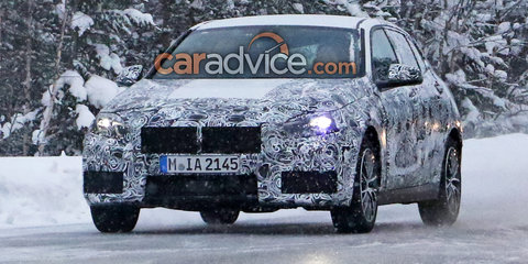 2019 BMW 1 Series spied again