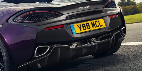McLaren MSO reveals new options for Sports Series
