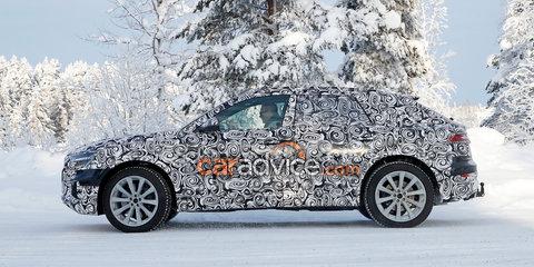 Audi SQ8 spied