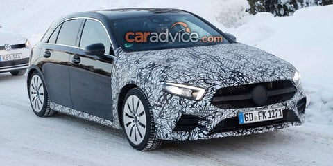 2019 Mercedes-AMG A35 spied