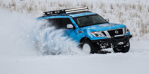Nissan Armada Snow Patrol revealed