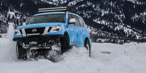 Nissan Armada Snow Patrol revealed