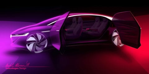 Volkswagen ID Vizzion previewed ahead of Geneva