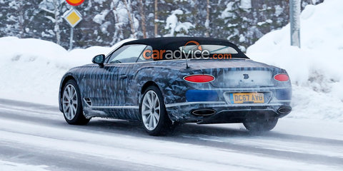 2018 Bentley Continental GTC spied