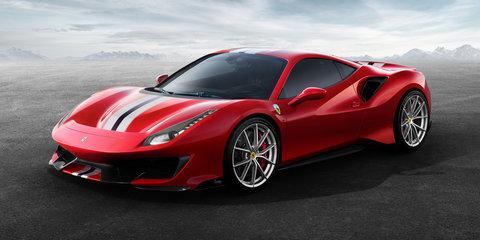 2018 Ferrari 488 Pista officially revealed