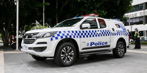 Holden Colorado the new Victoria Police divvy van