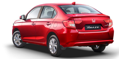 2018 Honda Amaze unveiled in India