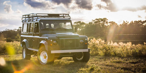 East Coast Defender unveils Heritage Collection