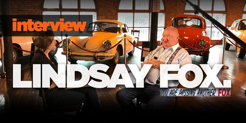 Lindsay Fox interview: Car-loving magnate's first big talk in years!