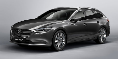 2018 Mazda 6 wagon facelift unveiled ahead of Geneva