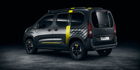 Peugeot Rifter 4x4 concept revealed
