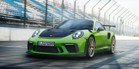 Porsche 911 GT3 RS Nurburgring hot lap - video