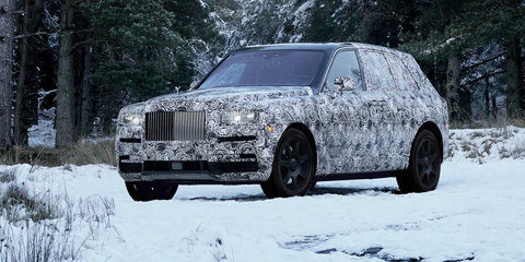 Rolls-Royce: Cullinan name confirmed for upcoming SUV