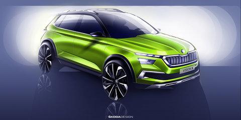 Skoda Vision X concept teased again