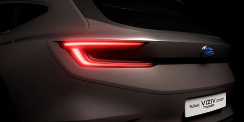 Subaru Viziv Tourer teased