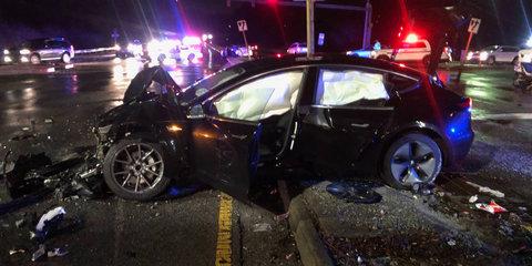 Tesla Model 3 crash prompts rapid software update