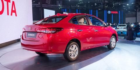 2018 Toyota Yaris sedan unveiled in New Delhi