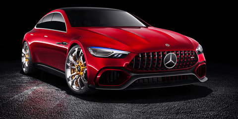 Mercedes-AMG GT 4-Door PHEV coming